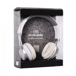 AUDIO EXTRA BASS WITH MICRO (EP16) WHITE