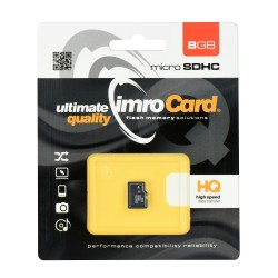 IMRO MICROSD 8GB WITHOUT ADAPTER