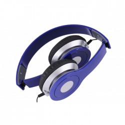 REBELTEC CITY HEADPHONES BLUE