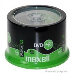 MAXELL DVD +R  16x  4.7GB  (50 Tub)