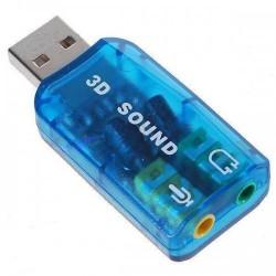 USB κάρτα ήχου No brand 5.1, 3D sound / DEL-17009