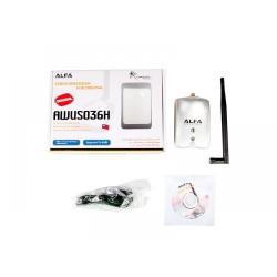 Wireless No brand USB Προσαρμογέας ALFA S036H / DEL-19019