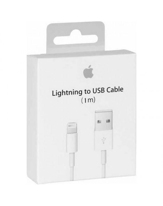 896f3536553 APPLE Cable USB to Lightning 1m RETAIL BOX ORIGINAL (MD818ΖΜ/Α)