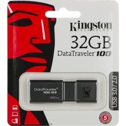 KINGSTON DT100G3/32GB USB Flash DataTraveler 100 Generation 3 USB 3.0 32GB