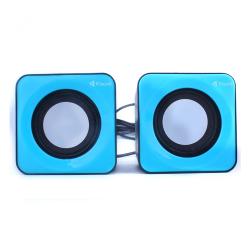 Ηχεία, Kisonli, V310, 2x3W, USB, Διαφορετικά χρώματα - 22088