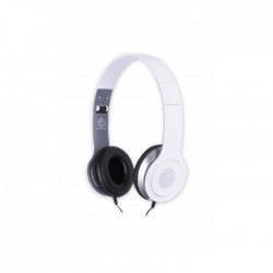 REBELTEC CITY HEADPHONES WHITE