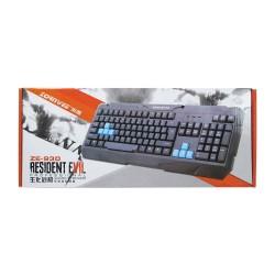Gaming Πληκτρολόγιο ZornWee Resident Evil, USB, Μαύρο - 6072