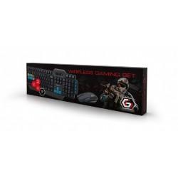 Gembird Gaming Set Keyboard + Mouse KBS-WMG-01
