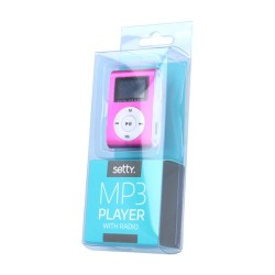 MP3 + EARPHONES SETTY BLUE