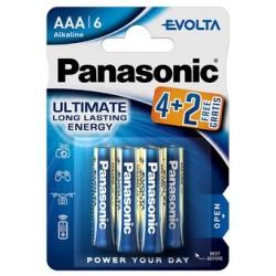 PANASONIC LR03 AAA EVOLTA 6BL (4+2)