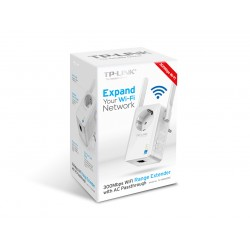 Tp-link 300Mbps TL-WA860RE V 1.1 Wi-Fi Range Extender with AC Passthrough