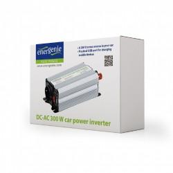 GEMBIRD/ENERGENIE 12 V Car power inverter, 300 W