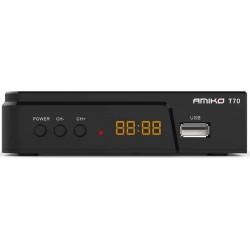 AMIKO T70 ΕΠΙΓΕΙΟΣ ΨΗΦΙΑΚΟΣ ΔΕΚΤΗΣ FullHD DVB-T2