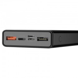 BASEUS POWERBANK MULIGHT Mulight 2xUSB + USB TYPE C PD QUICK CHARGE 3.0 20000mAh (PPALL-MY01) BLACK