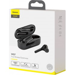 BASEUS W07 ENCOK TWS EARPHONES BLACK