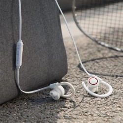 BASEUS WIRELESS MAGNETIC EARPHONES - WHITE (NGS17-02)