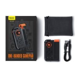 BASEUS GAMEPAD GAMO MOBILE GAME ONE-HANDED GMGA05-01 BLACK