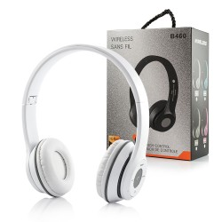 BLUETOOTH HEADSET FM B460 WHITE