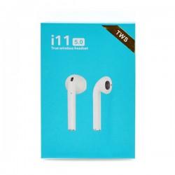 BLUETOOTH TWS i11 EARPHONES POWERBANK WHITE