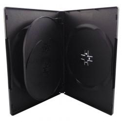 DVD BOX  4-ΑΠΛΟ ΜΑΥΡΟ  14mm