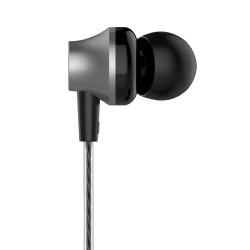 DEVIA METAL WIRE EARPHONES BLACK