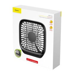 BASEUS CXZD-01 BACKSEAT USB FAN - BLACK