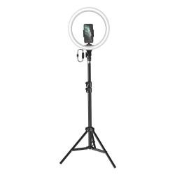 BASEUS LAMP FLOOR LED RING LIVE STREAM 12 INCH BLACK CRZB12-B01