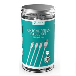 DEVIA CABLE KINTONE SET 30pcs TYPE C WHITE
