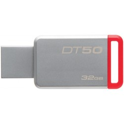 KINGSTON DT50/32GB USB STICK 32GB USB 3.1, Red