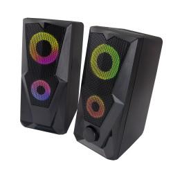 ESPERANZA USB SPEAKERS 2.0 LED RAINBOW BAILA EGS103