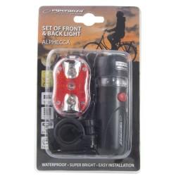 ESPERANZA LED BIKE TAIL&FRONT SET LAMPS ALPHECCA EOT015