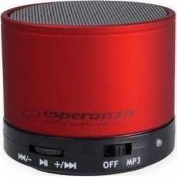 ESPERANZA EP115C RITMO BLUETOOTH SPEAKER RED