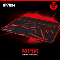 GAMING MOUSEPAD FANTECH  MP64, 800x300, BLACK