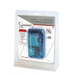 GEMBIRD FD2-ALLIN1 USB CARD READER/WRITER
