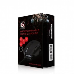 GEMBIRD MUSG-06 PROGRAMMABLE GAMING MOUSE 4000DPI RGB