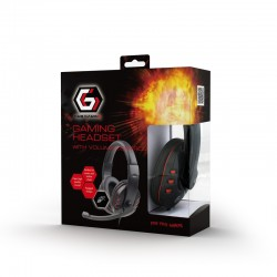 GEMBIRD GHS-402 STEREO HEADPHONES WITH MICROPHONE AND VOLUME CONTROL GAMING