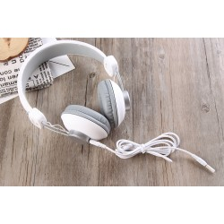 GJBY GJ-15  HEADPHONES - AUDIO EXTRA BASS PINK