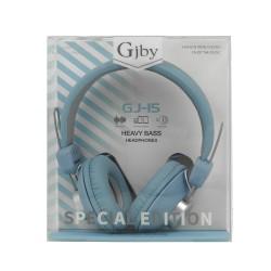 GJBY GJ-15  HEADPHONES - AUDIO EXTRA BASS BLUE