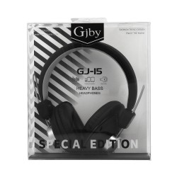 GJBY GJ-15  HEADPHONES - AUDIO EXTRA BASS BLACK