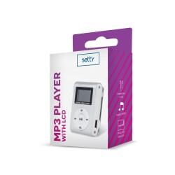 MP3 + EARPHONES SETTY SILVER