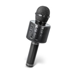 FOREVER BMS-300 MICROPHONE WITH BLUETOOTH SPEAKER BLACK