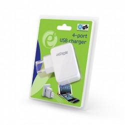 GEMBIRD EG-U4AC-02 UNIVERSAL USB CHARGER , 3.1 A