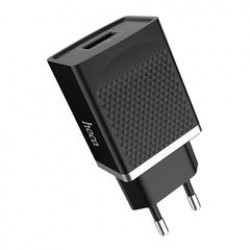HOCO C42A QUICK CHARGE 3.0 VAST POWER USB CHARGER BLACK
