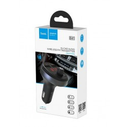 HOCO E41 CAR CHARGER + TRASMITTER FM BLUETOOTH