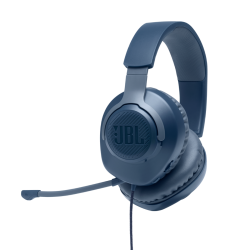 JBL QUANTUM 100, OVER-EAR WIRED GAMING HEADSET BLUE