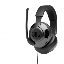 JBL QUANTUM 300, OVER-EAR WIRED GAMING HEADSET SURROUND BLACK