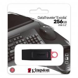 KINGSTON DTX/256GB DATATRAVELER EXODIA 256GB USB 3.2 FLASH DRIVE