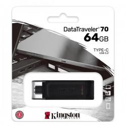 KINGSTON DATA TRAVELER 70 TYPE C 64GB USB 3.2 DT70/64GB