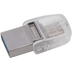 KINGSTON DTDUO3C/64GB DATATRAVELER MICRODUO 3C 64GB USB3.1 FLASH DRIVE