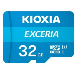 KIOXIA MICRO SD 32GB WITH ADAPTER UHS I U1 (M203)